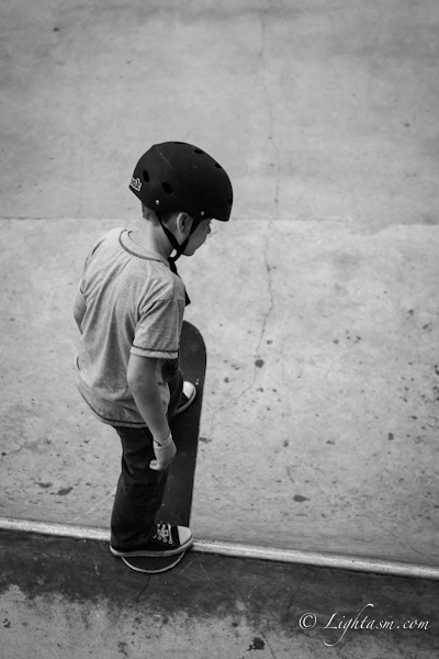 Skateboard Photography of Skater on the Edge
