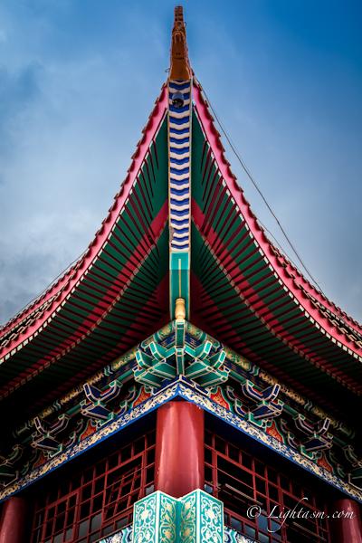 Temple Corner Architecture