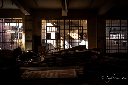Derelict Buildings in HDR - Darker Exposure