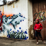 Graffiti with Kid