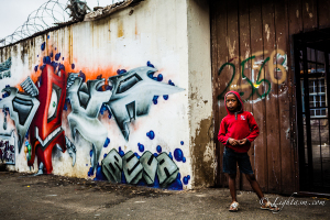 Graffiti with Kid