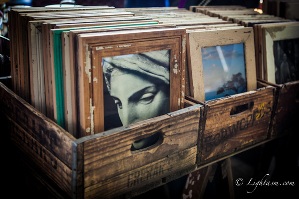 Picture frames from Rosebank Mall Rooftop Market