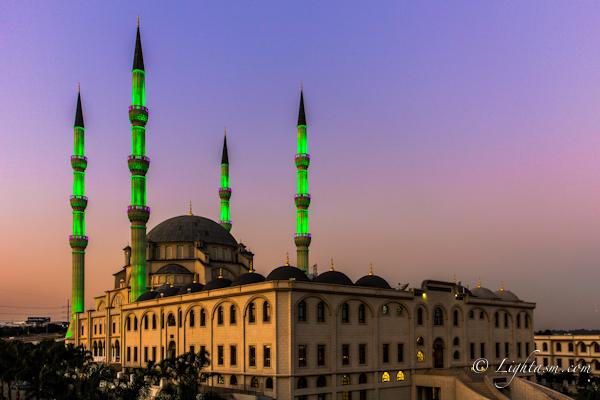Nizamiye Turkish Masjid Sunset