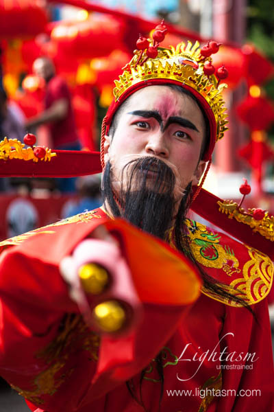 Chinese Performer in Costume