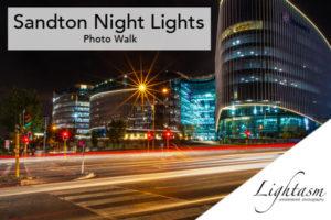 Sandton Night Lights