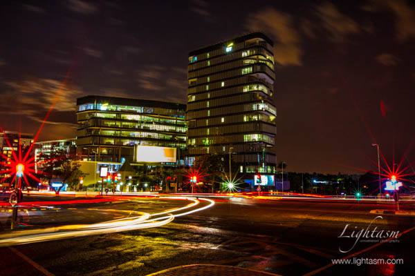 Sandton's Night Lights
