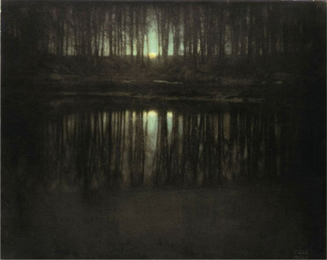 Edward Steichen, The Pond – Moonlight 1904