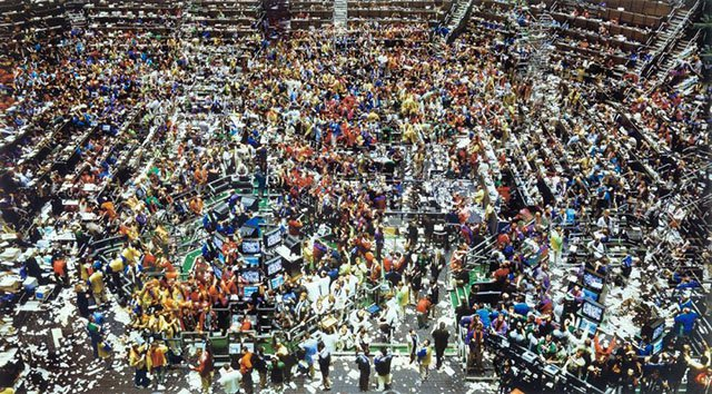 Andreas Gursky, Chicago Board of Trade 1997